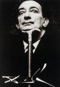 Portrait of Salvador Dali